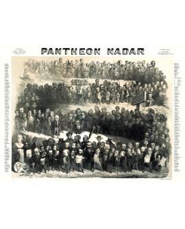 Panthéon Nadar 1854 (reproduction)