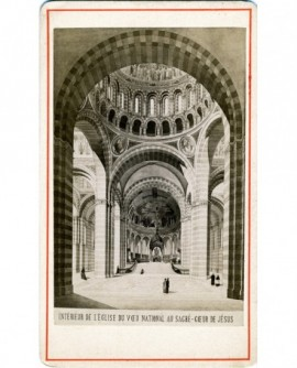 Intérieur de l'église du Sacré-Coeur à Paris