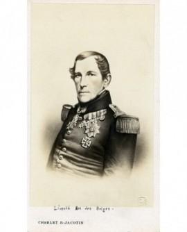 Portrait d'un homme en uniforme (Léopold roi des Belges)