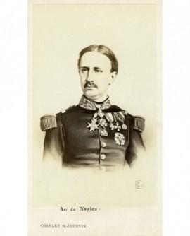 Portrait d'un homme moustachu en uniforme (roi de Naples Ferdinand II)