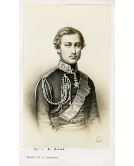 Homme en uniforme (prince de Galles, futur Edouard VII)