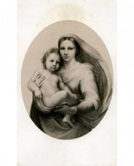 Peinture (Vierge à l\'enfant)