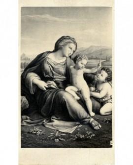 Peinture: Vierge avec Jésus et Jean-Baptiste