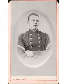 Militaire (caporal-chef) du 47è, tête nue