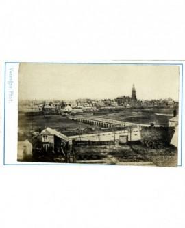 Vue générale de Charleville, avec pont sur la Meuse