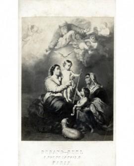 """Peinture de Murillo: la """"Vierge de Séville"""""""