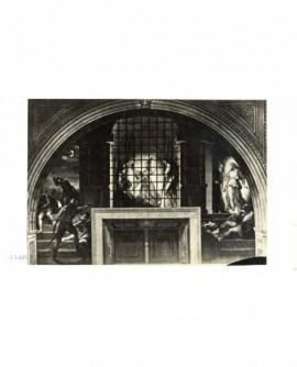 Fresque illustrant la délivrance de Saint-Pierre