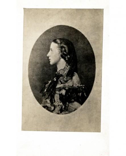 Portrait d\'une femme de profil (grande duchesse russe)