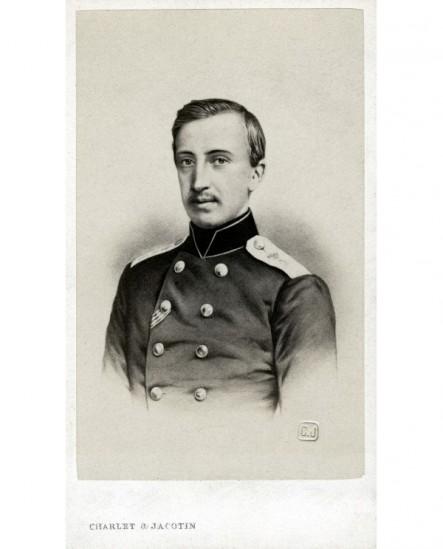 Portrait d'un homme en uniforme (le grand duc Nicolas de Russie)