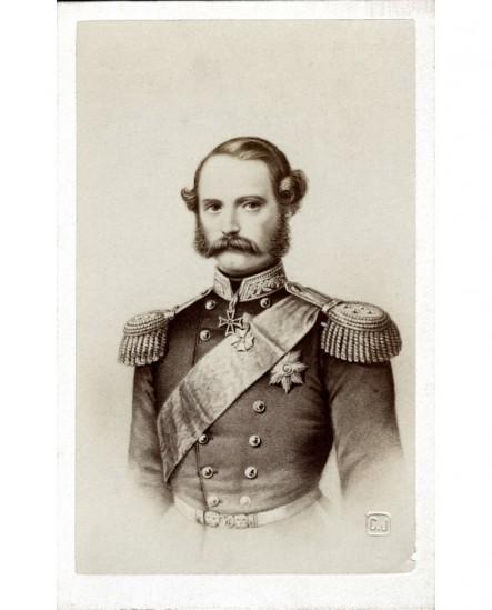 Portrait d'un souverain en uniforme (roi de Danemark Christian IX)