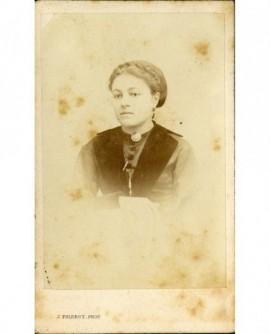 Portrait de femme. Mme Claudius Poncet