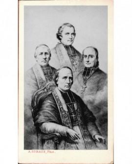 Mosaïque des archevêques, Mgr Affre, Sibour, Morlot et Darboy