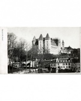 Château de Pau vu du parc