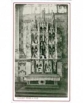 Rétable (gothique) de l'église de Brou