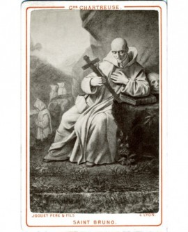 Gravure de Saint Bruno