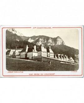 Vue des bâtimenrts de la Grande Chartreuse (Isère)