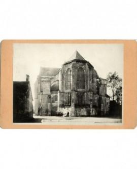 Chevet de l'église de Mussy-sur Seine (Aube)