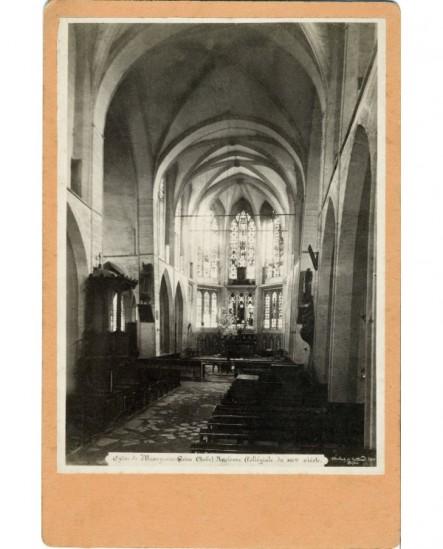 Nef et choeur de l'église de Mussy-sur Seine