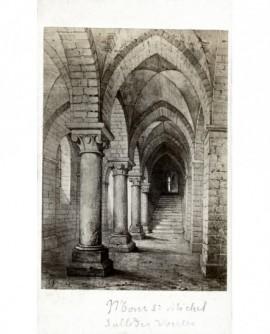 Mont Saint-Michel, salle des voûtes