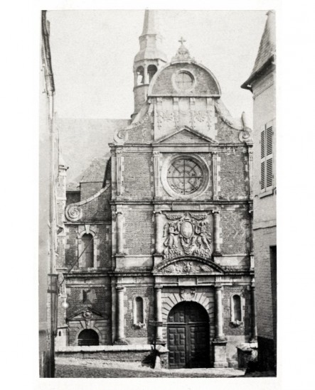 Eu: façade de la chapelle du Collège (1624)