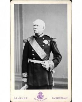 Portrait de Mac Mahon en uniforme de maréchal
