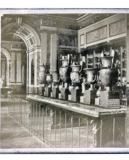 Musée du Louvre. Salle des poteries grecques
