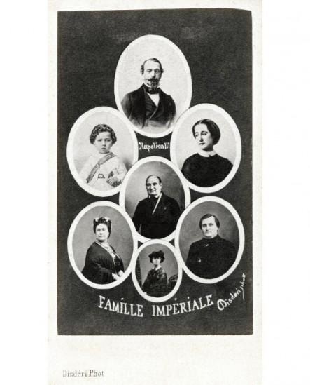 Mosaïque: Famille Impériale de Napoléon III
