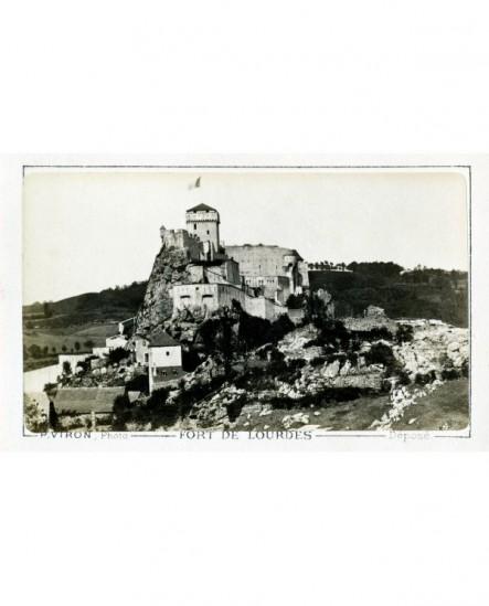 Vue du fort de Lourdes.