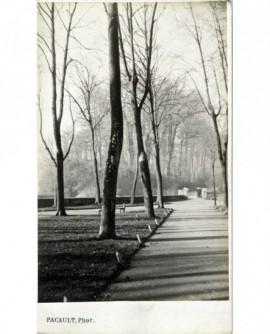 vue de l'Entrée du parc de Pau