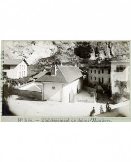 Vue extérieure de l'établissement de Salins-Moutiers (Savoie)