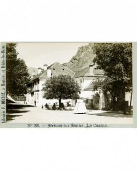 Vue du Casino de Brides-les-Bains (Savoie)