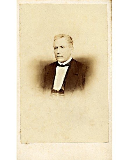 Portrait d'un homme à jabot blanc (avocat?)