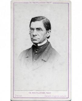 Portrait d'un homme. Emile Littre