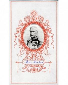 Portrait en médaillon du maréchal Mac Mahon