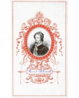 Portrait en médaillon de la reine Marie Stuart