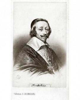 Portrait du cardinal de Richelieu (d'après Ph de Champaigne)