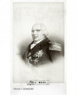 Portrait du roi Louis XVIII