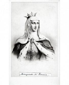 Portrait de la reine Marguerite de Provence