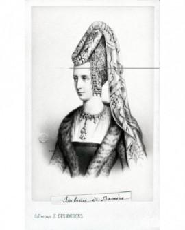 Portrait de la reine Isabeau de Bavière