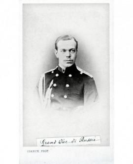 Portrait du grand duc (Constantin?) de Russie