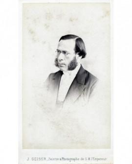 Portrait d'un homme à favoris et lunettes (Emile Rocheblave)