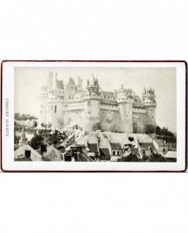 Vue extérieure du château de Pierrefonds
