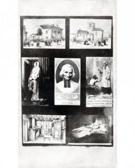 Mosaïque d'Ars et du curé J.M. Vianney