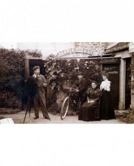 Photographe Alphonse Leenarts. photo de groupe atelier. studio