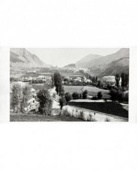Briançon vue du hameau du Fontanil