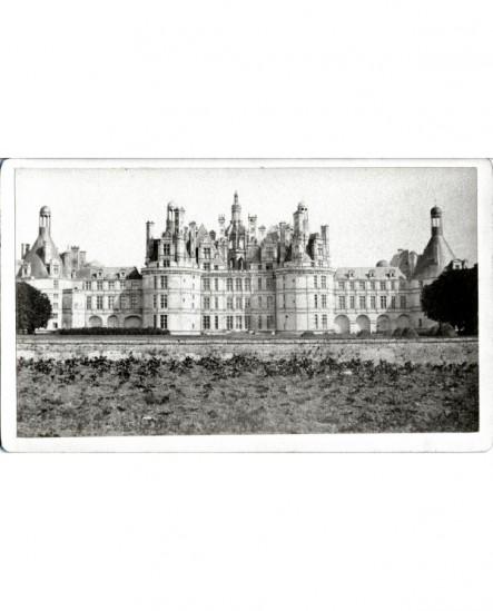 Vue de la façade sur le Cosson du Château de Chambord