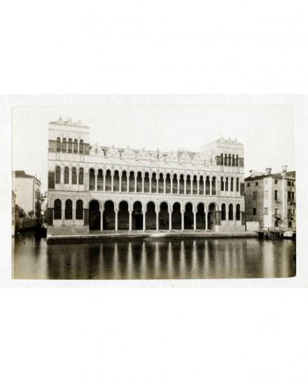 Vue extérieure du Fondaco dei Turchi à Venise