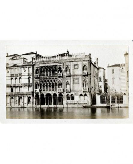 Vue extérieure de la Ca' d'Oro à Venise