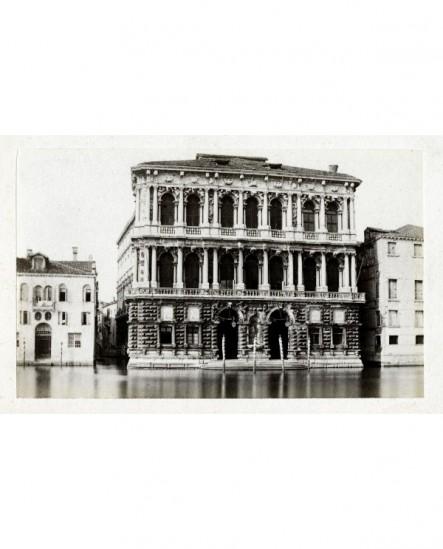 Vue extérieure de la Ca' Pesaro à Venise