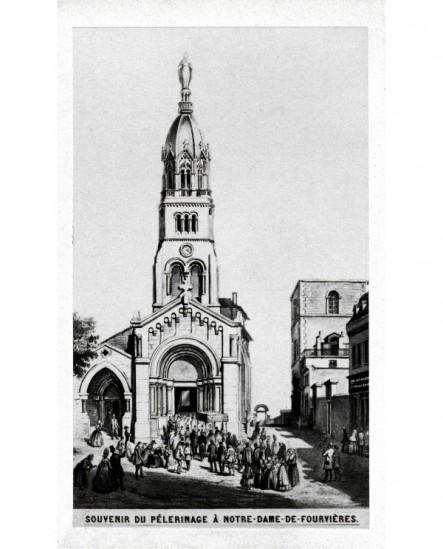 Souvenir de pélerinage à Fourvières (vers 1860)